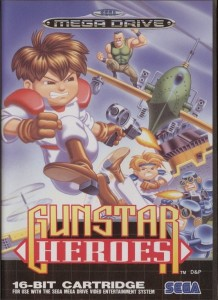 Portada de Gunstar Heroes