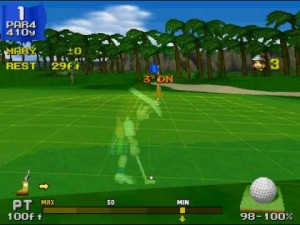 everybody's golf screenshot 02