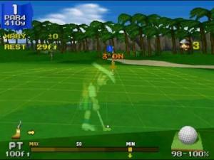 everybody's golf screenshot 02