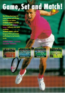 Ultimat Tennis Flyer