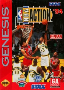 NBA Action 94 cover