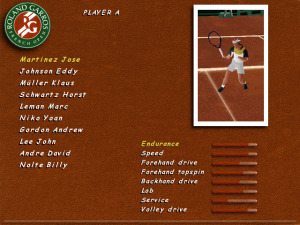 roland garros 97 screenshot 01