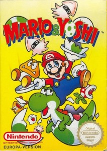 Mario and Yoshi cover
