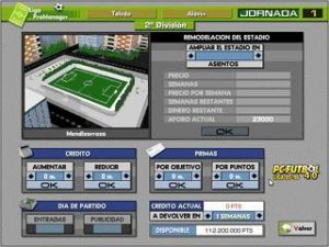 pc futbol 4.0 screenshot 02