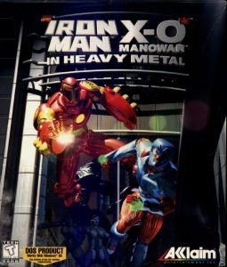 Iron Man & X-O Manowar in Heavy Metal cover