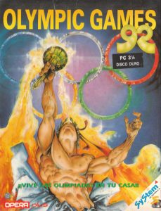 Olympic Games 92 cover